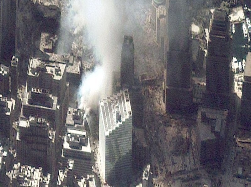World Trade Center Aftermath as Seen by IKONOS Satellite