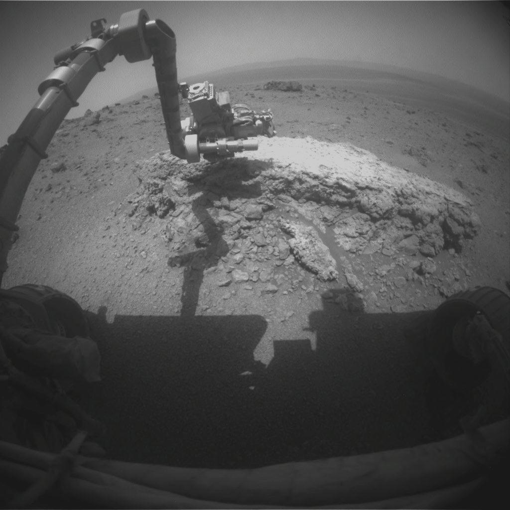 At Mars Crater, NASA Rover Finds Evidence of Ancient Water Hotspot