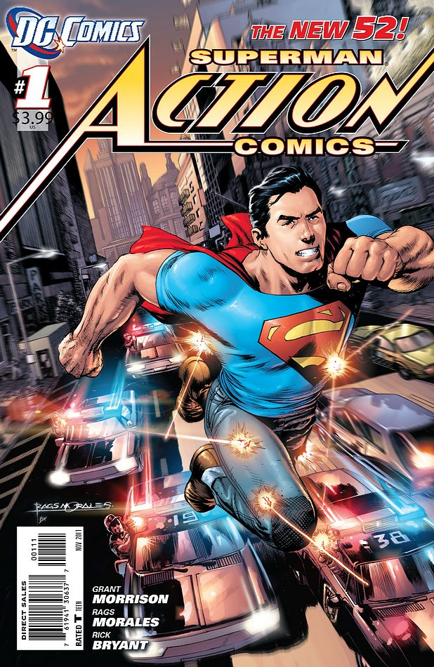 DC's New Superman Is a Modern, Cynical Superhero