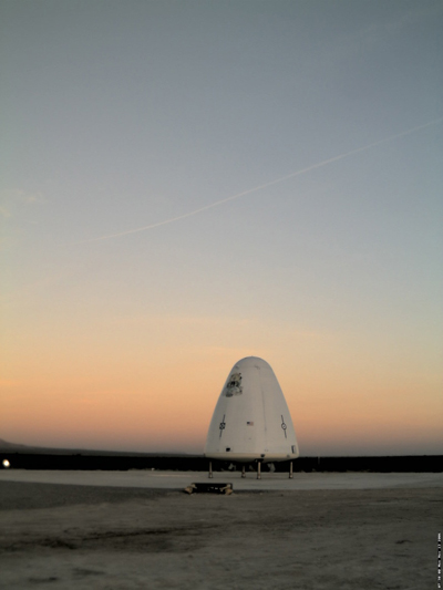 Sun Rises for Blue Origin's Goddard Test