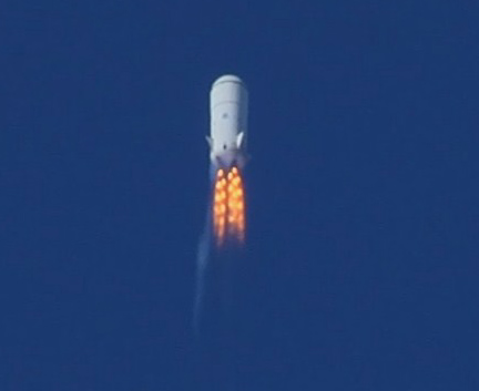 Blue Origin's Rocket Failure