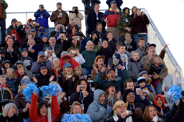 Blue Origin Spectators at Goddard Test Launch