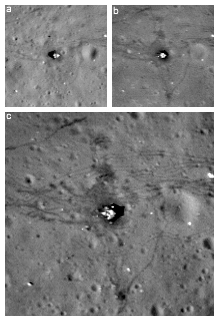 Resolution Comparison Between Nominal Orbit Images of the Apollo 17 landing site and the New Low Orbit Image