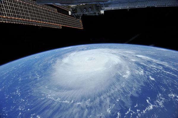 Hurricane Katia From Above