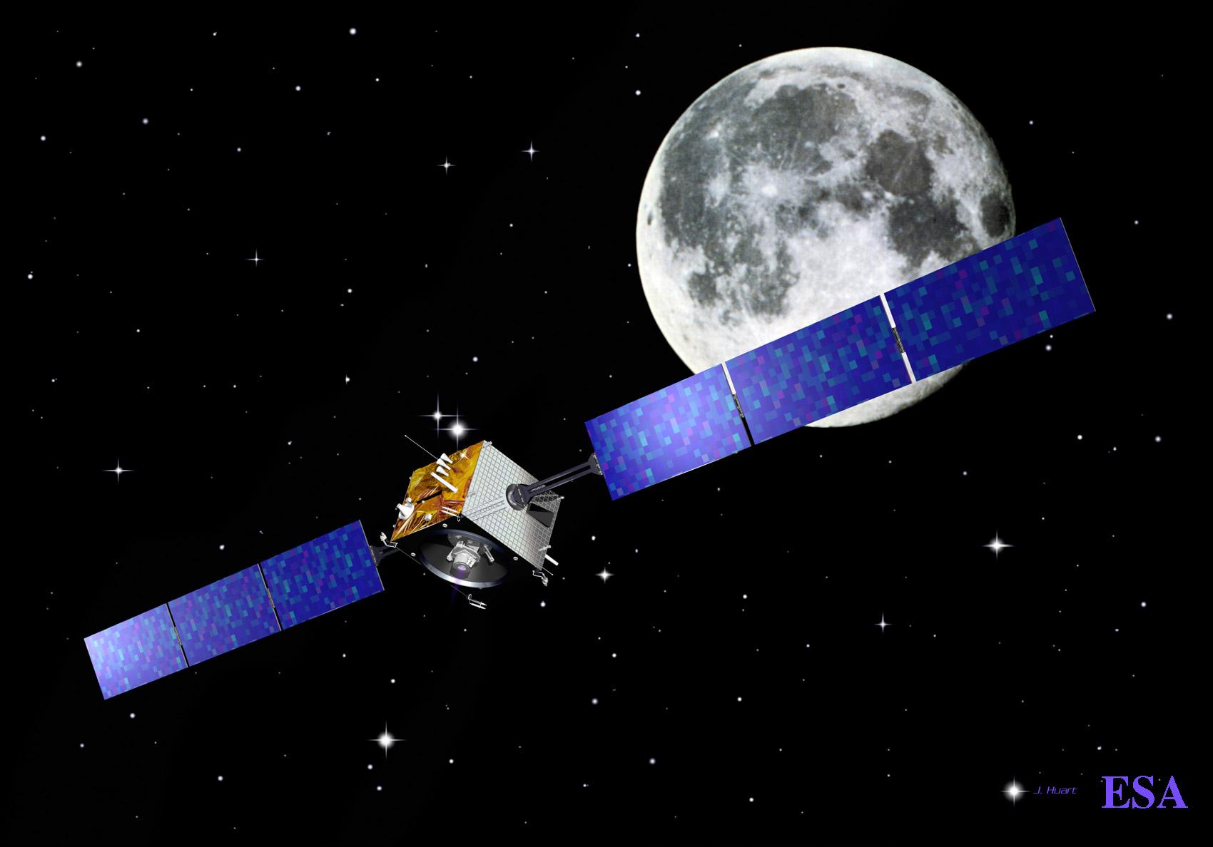 Europe's Lunar Smart-1