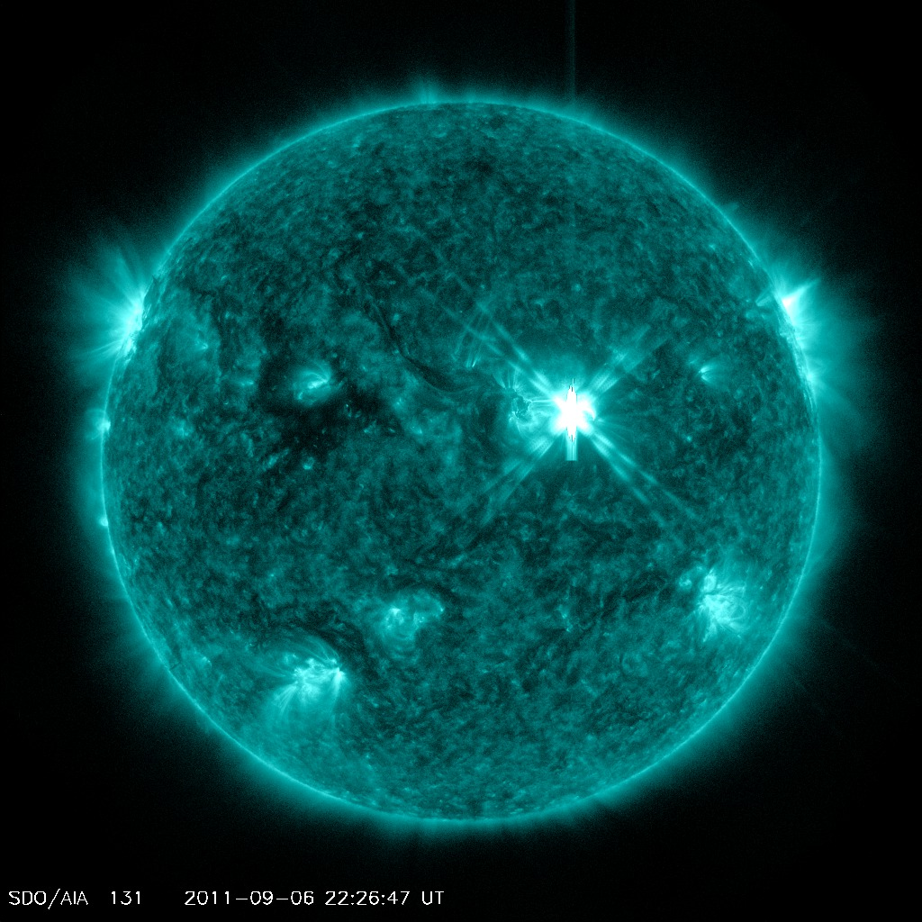 Sun Unleashes Massive Solar Flares in One-Two Punch