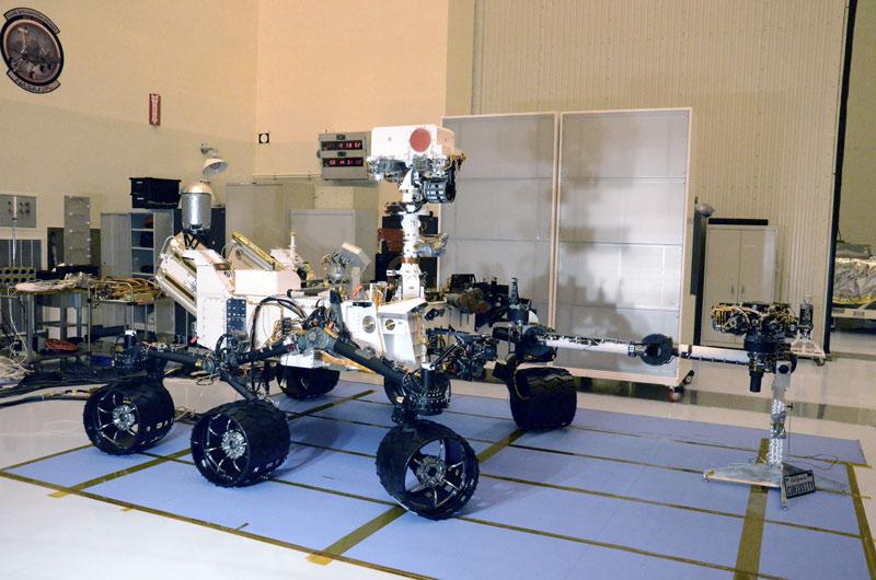 NASA's Mars Science Laboratory Fully Deployed