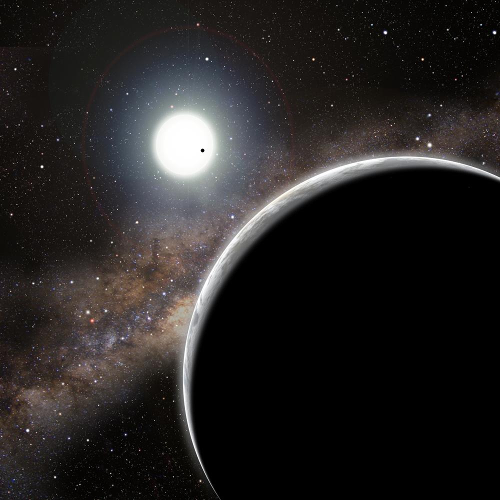 Alien Planet Kepler 19b