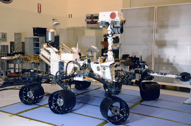 Curosity Rover Right Side