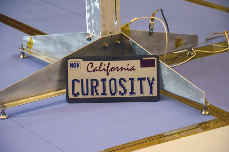 The Martians Won't Get a Kick out of This Vanity License Plate