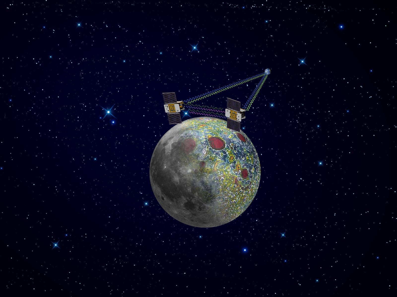 NASA to Kids: Name Our Twin Moon Gravity Probes