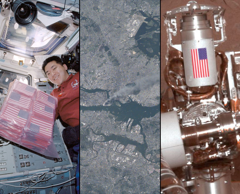 9/11 Tributes Reach All the Way to Space, to Mars and Back