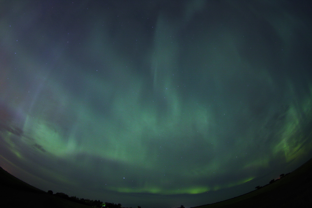 August 2011 Auroras by Colin Chatfield