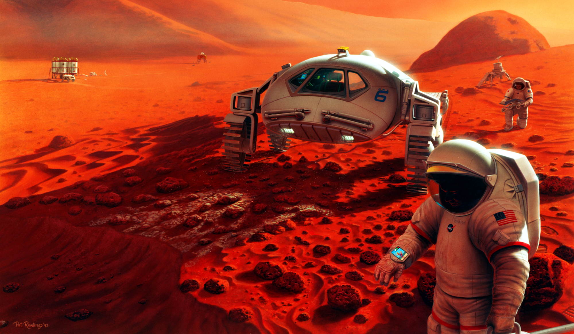 Mars Missions Could Make Humanity a Multi-Planet Species, NASA Chief Says