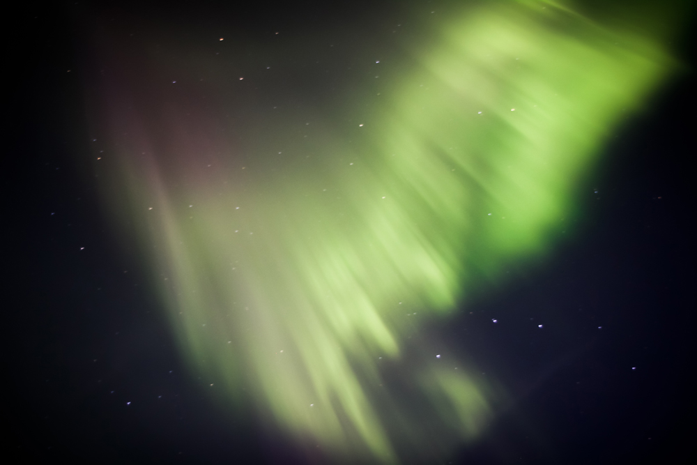 Peak Aurora Activity on Sept. 9, 2011, Seen From British Columbia, Canada