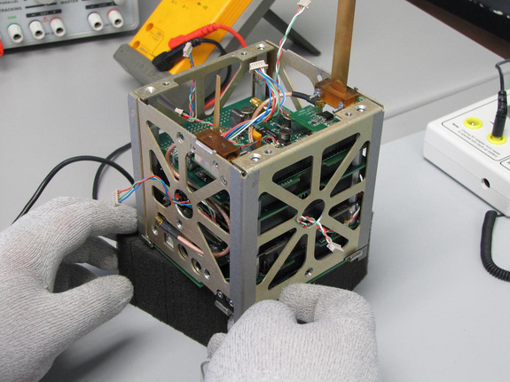 CubeSats can be loaded with micro-sensors to provide valuable science information as they circle Earth.