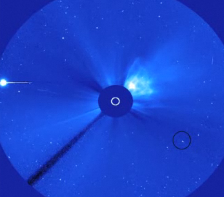 Daredevil Comet Making Death Plunge Into Sun