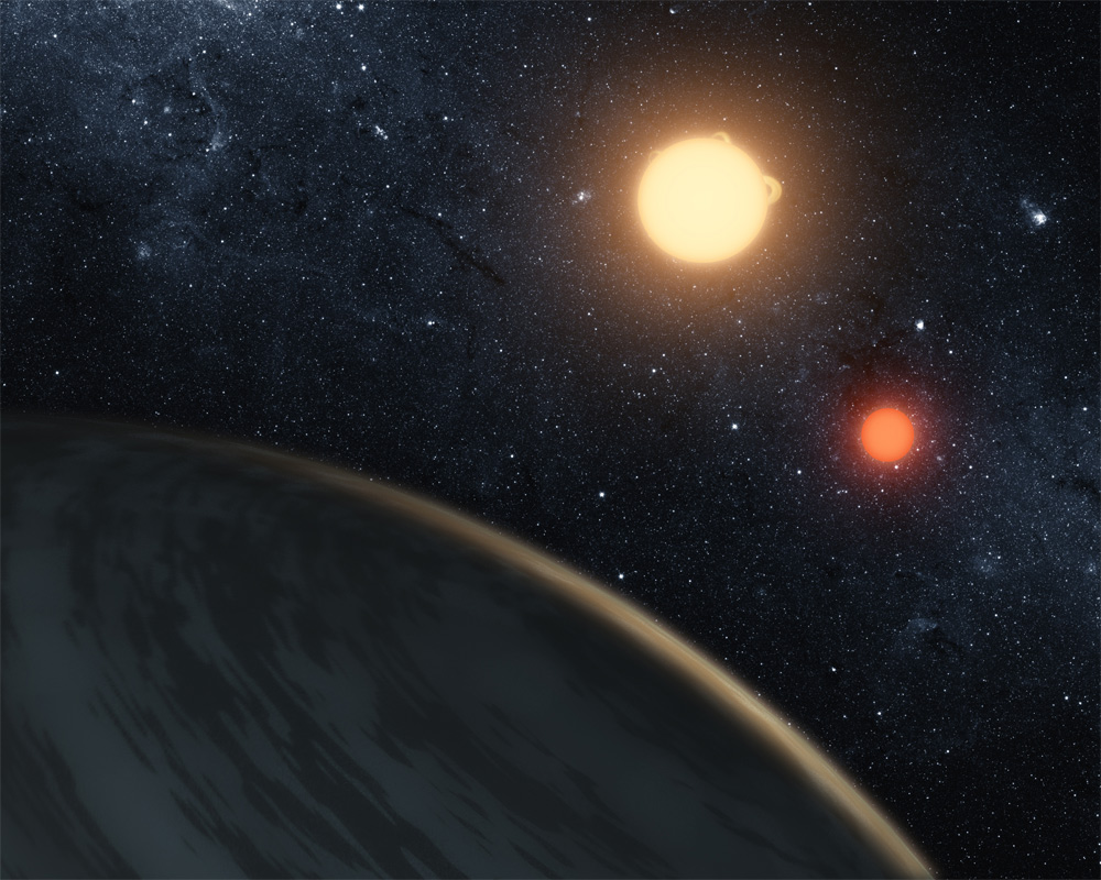 Planet with 2 Suns: Tatooine