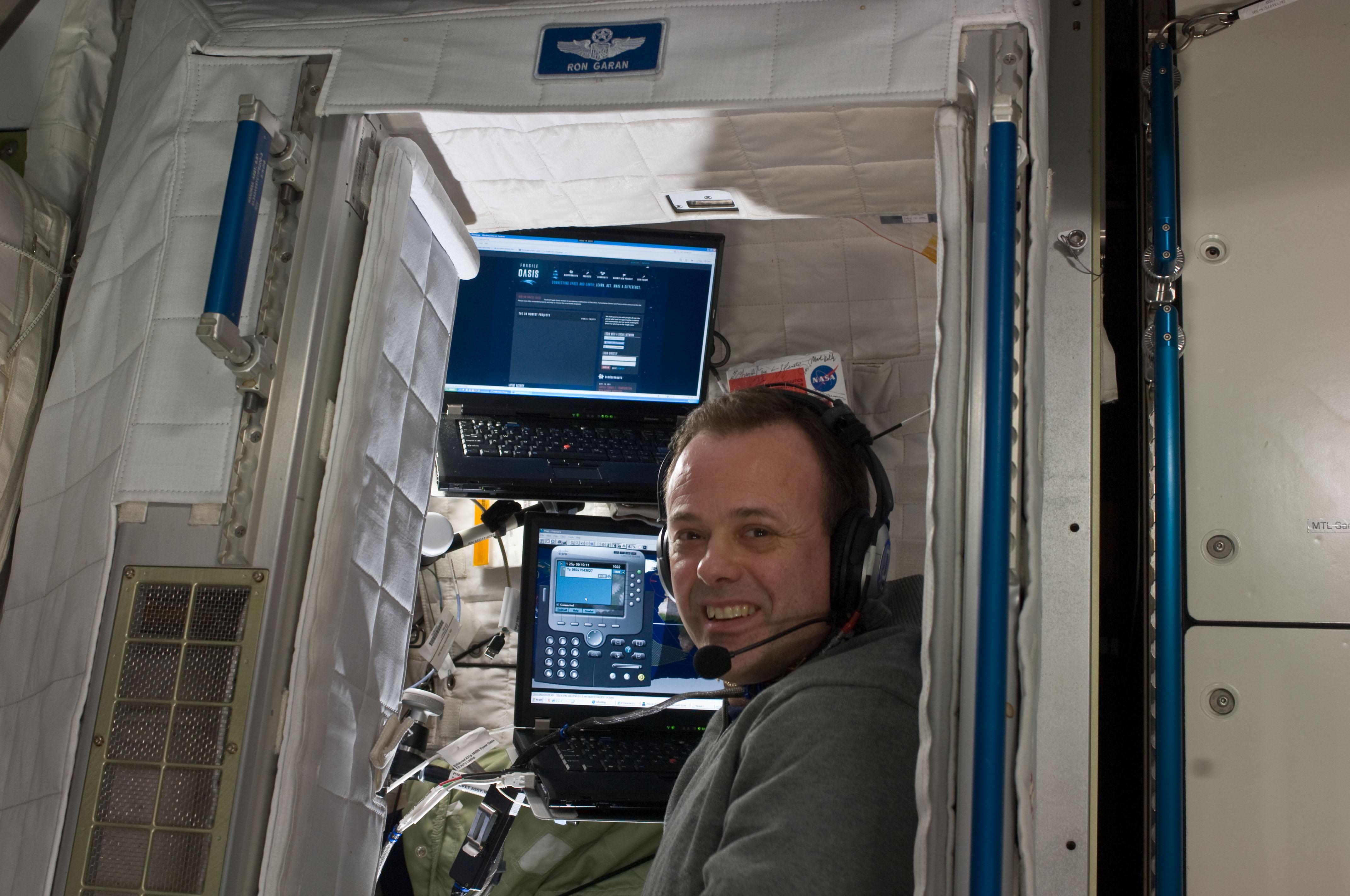 Ron Garan at ISS