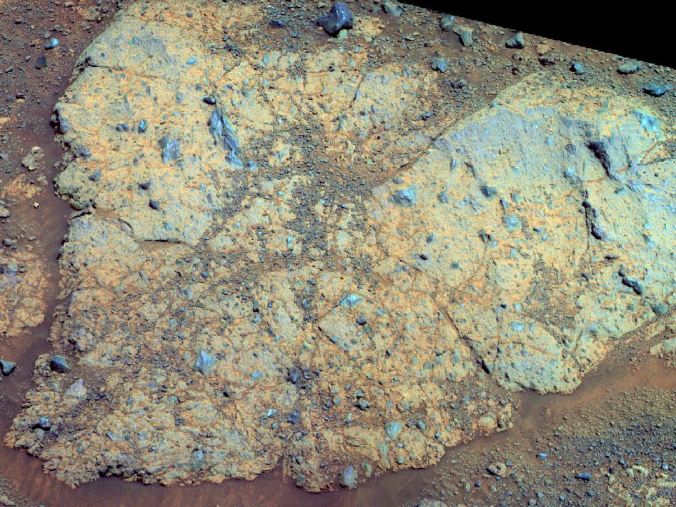 NASA Rover Finds Rare Mars Rock With Clues of Ancient Water