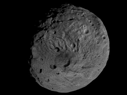 New Video Reveals Giant Asteroid Vesta as Seen by Spacecraft