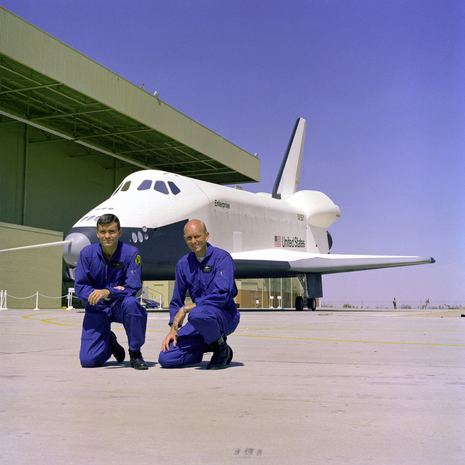 Space Shuttle Enterprise: The Test Pilots