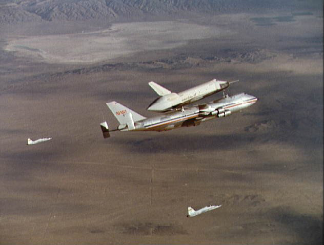 Shuttle Enterprise, a Formation Flyer