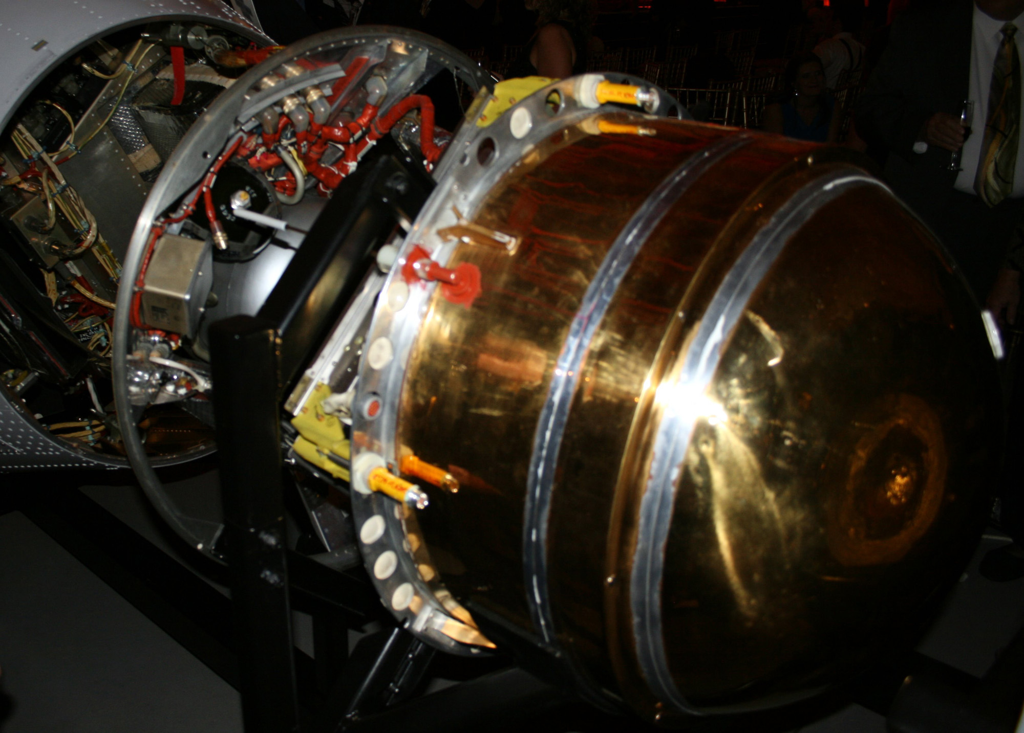 Close-Up View of a GAMBIT Spy Satellite