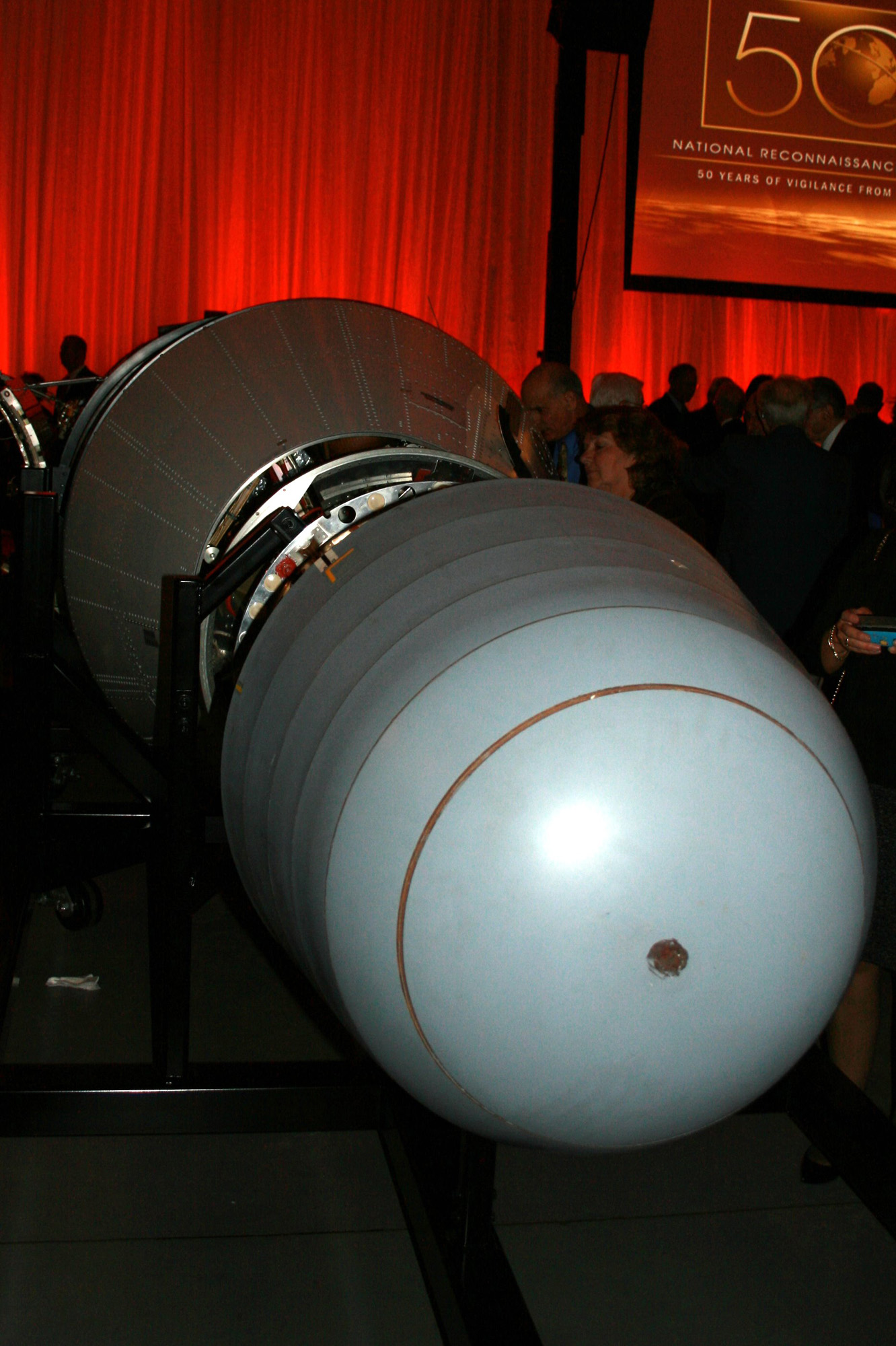 KH-7 GAMBIT Satellite Nose Cone