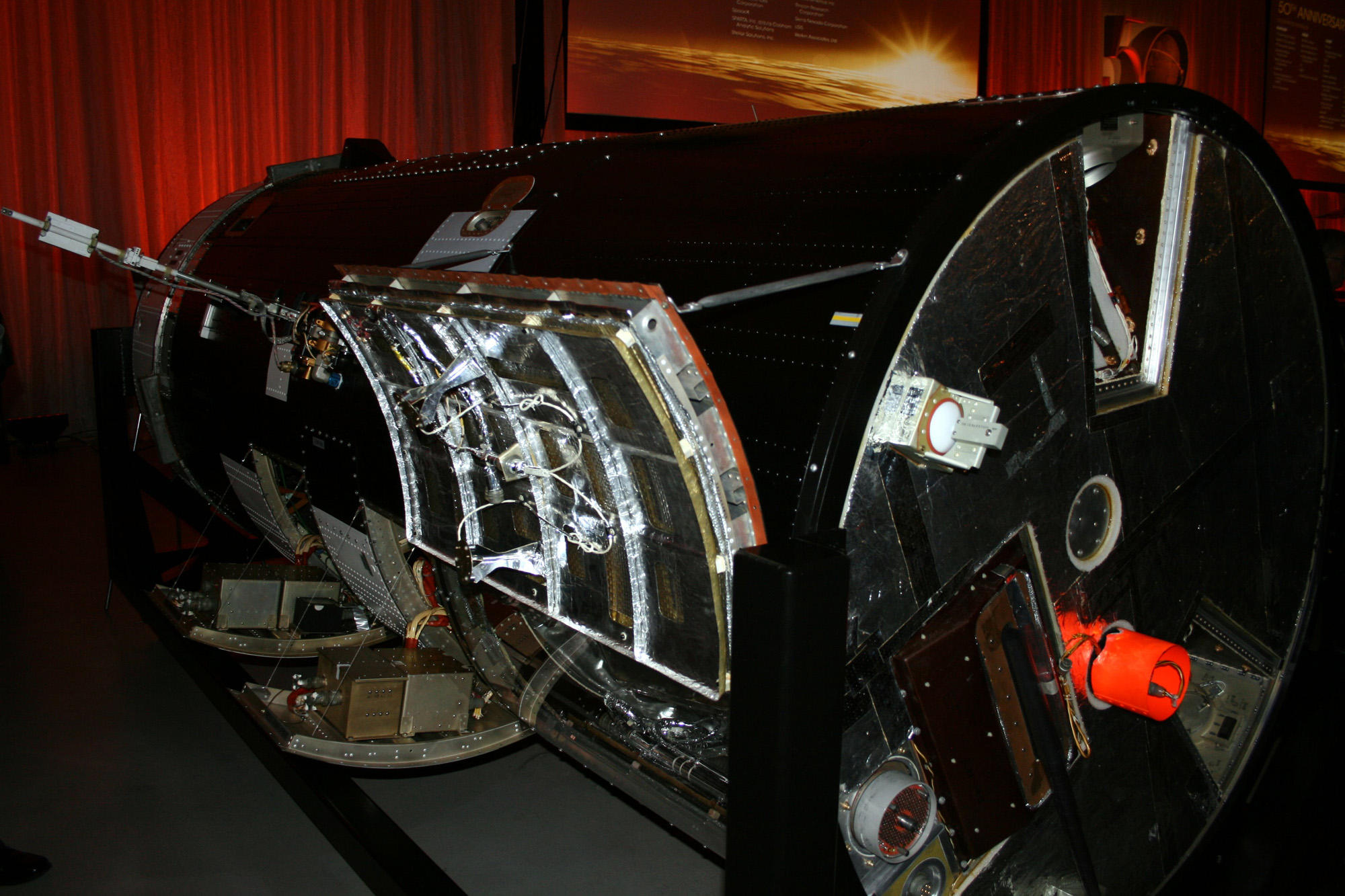 The KH-7 GAMBIT Spy Satellite: Rear View