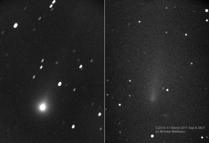 Comet Elenin Could Be Falling Apart, Skywatcher's Photos Suggest