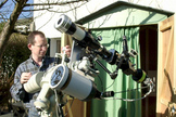 Thierry Legault is an amateur astronomer.
