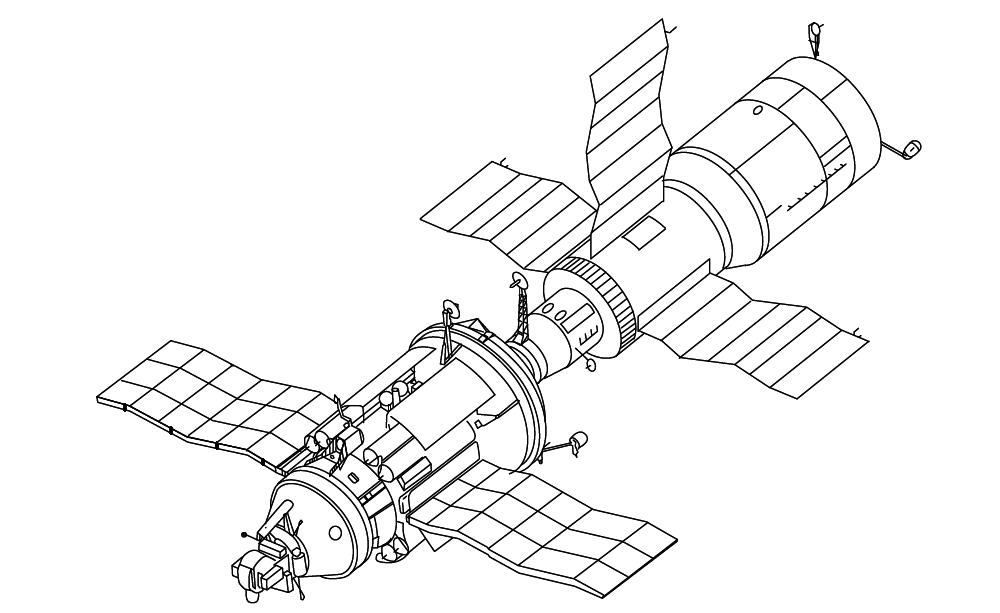 Salyut 6 and Salyut 7 (Soviet Union)