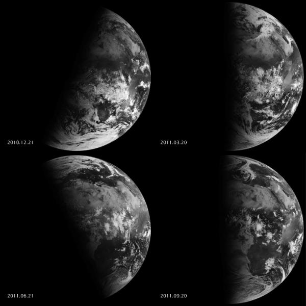 Amazing NASA Video Shows Fall Equinox from Space