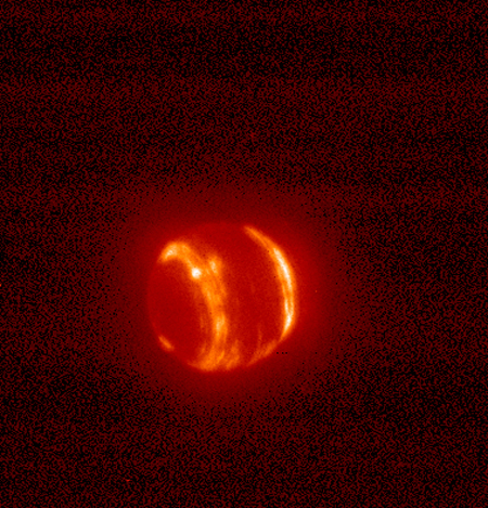 Neptune in Infrared Light