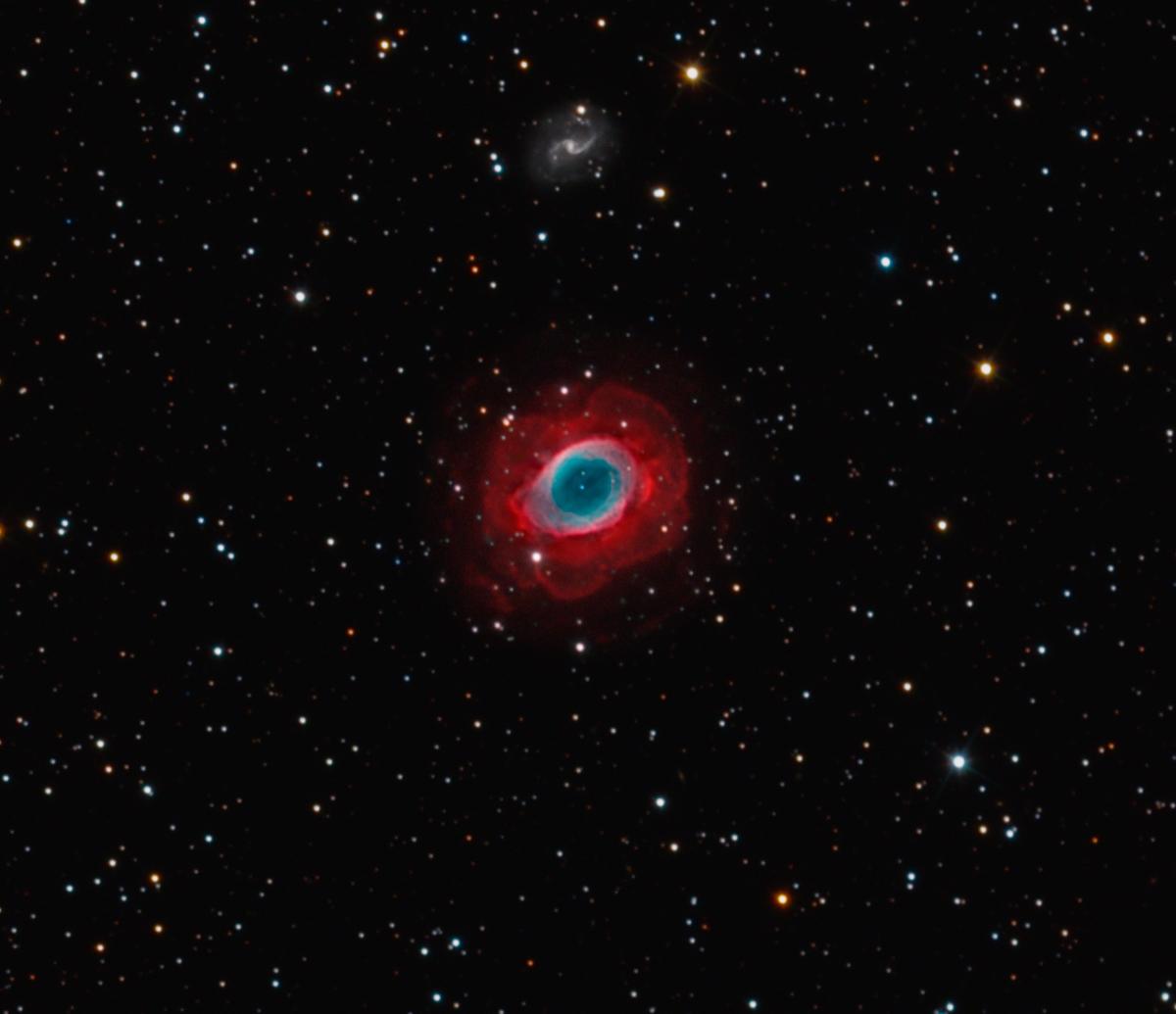 Ring Nebula a Jewel