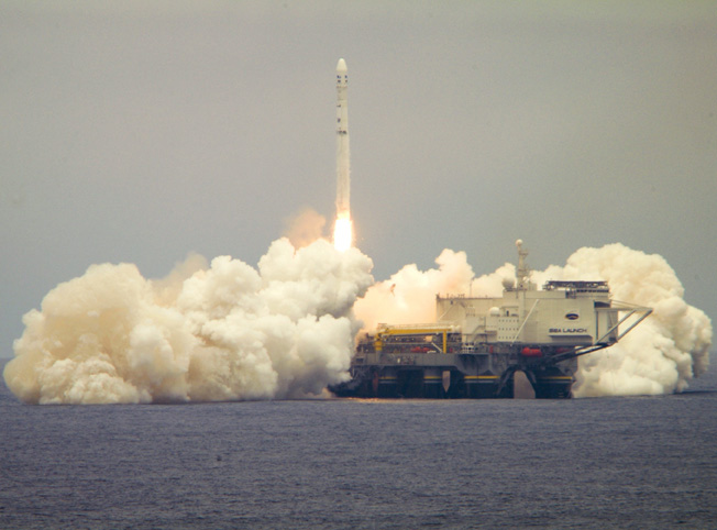 Sea Launch Returns to Flight with Smooth Satellite Flight