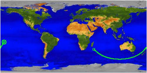 NASA Pinpoints Pacific Ocean Grave of Fallen UARS Satellite