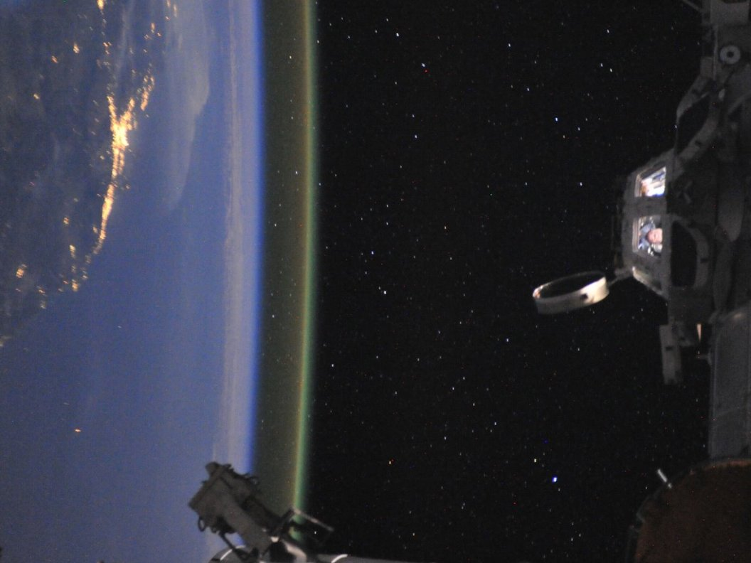 Spectacular Photo Captures Astronaut's Last Day in Space