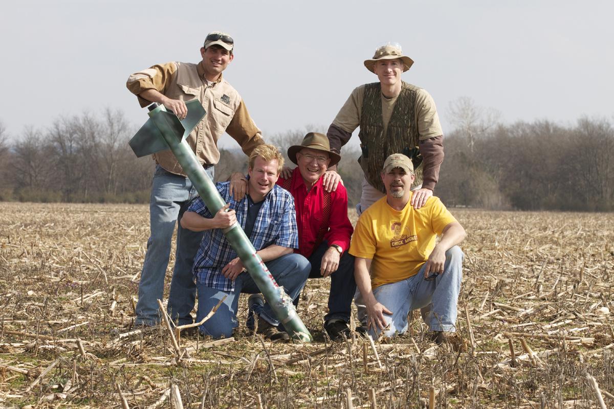 Rednecks and Moonshine-powered Rocket