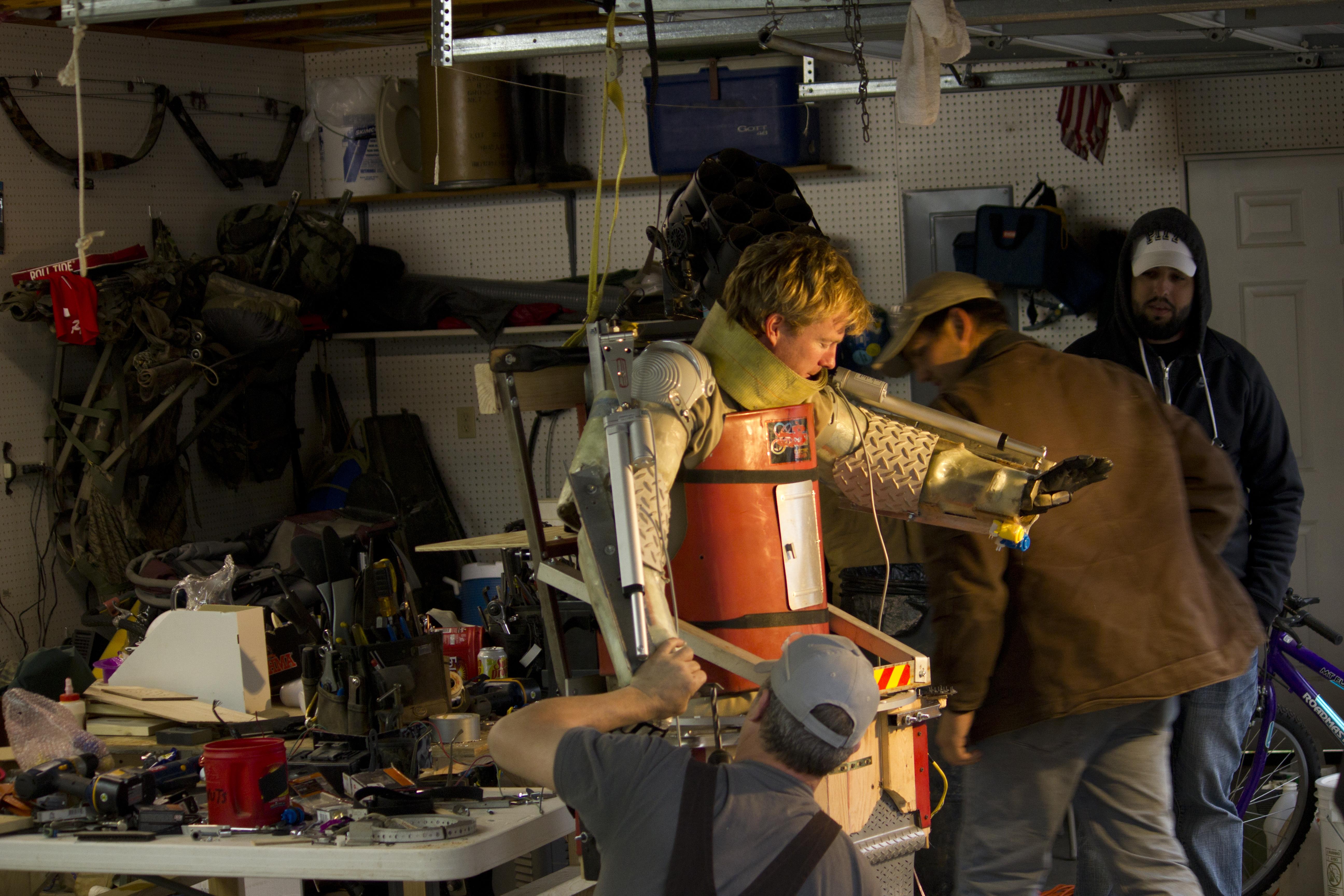 Rocket City Rednecks build Exoskeleton Suit