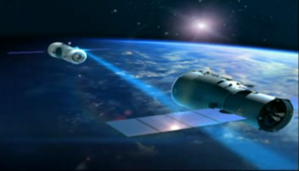 China's Tiangong 1 Docking Concept