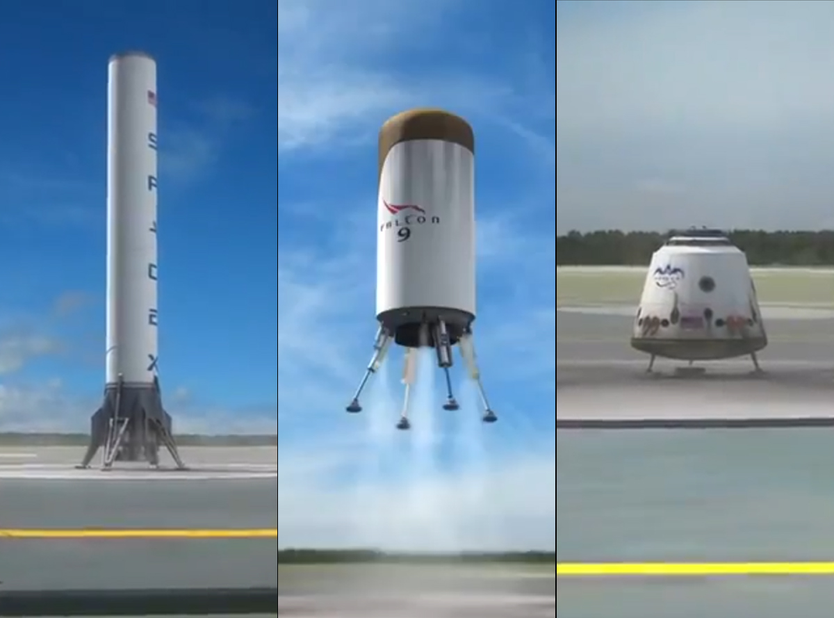 SpaceX Announces Reusable Rocket Plan