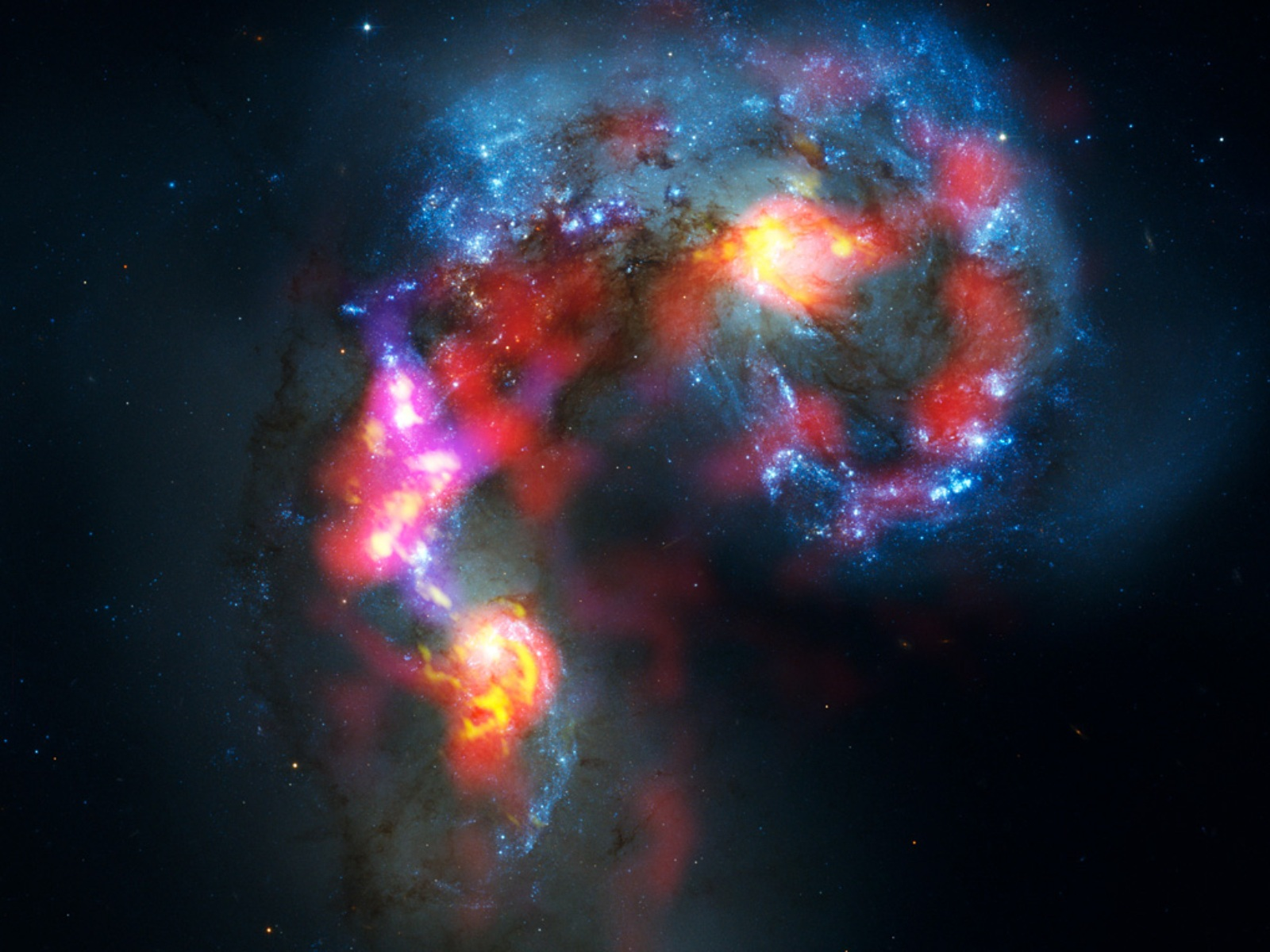 ALMA Telescope's First Image
