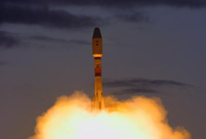 Soyuz 2-1b Rocket Launch October 2011