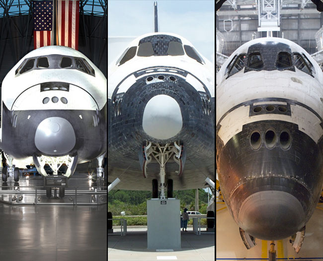Space Shuttles Trading Spaces in Houston, NYC and LA