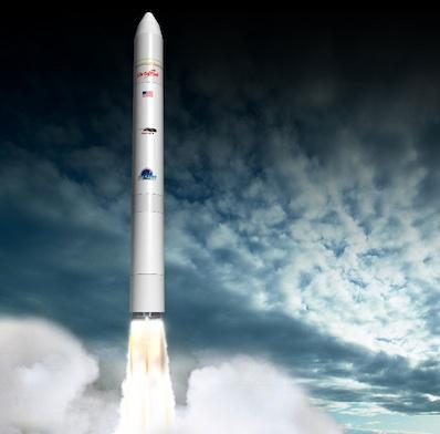 Antares Rocket Artist's View