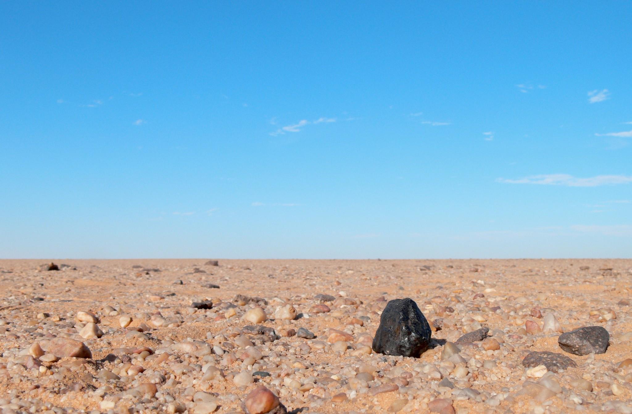 Triple Asteroid Crash Created Sudan Meteorites