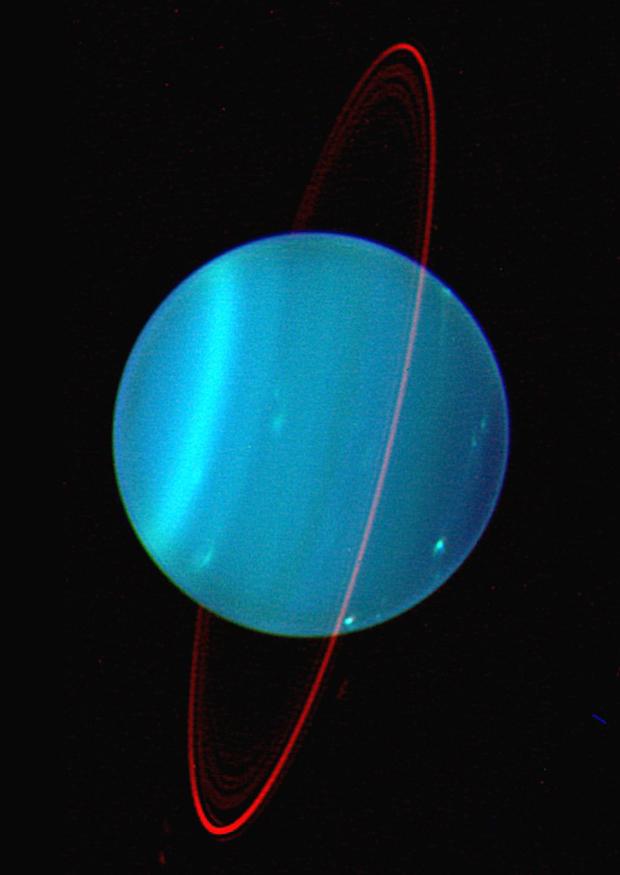 Planet Uranus Got Sideways Tilt From Multiple Impacts