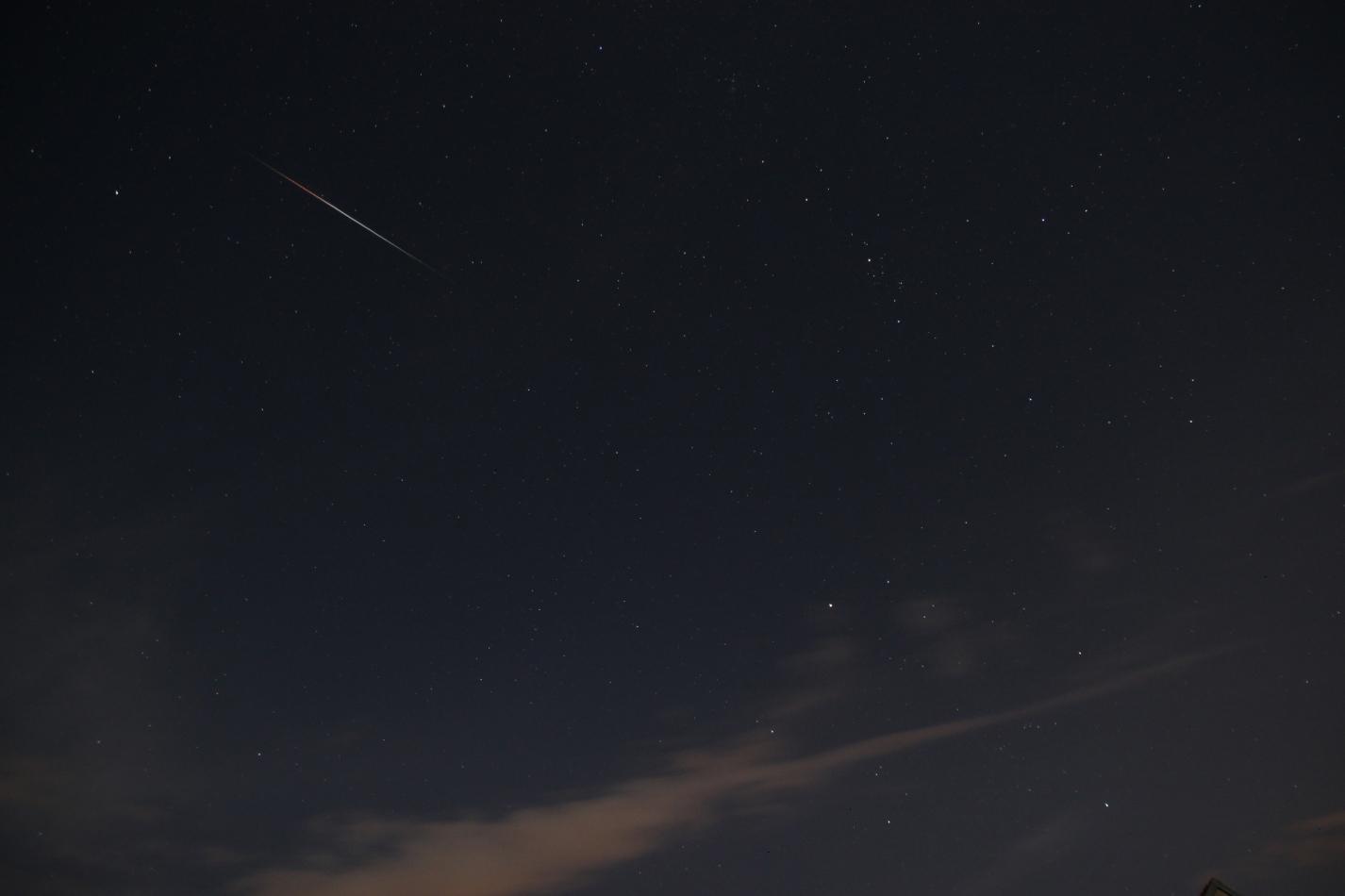 Draconid Meteor Shower 2011: Richard Klofac in Czech Republic